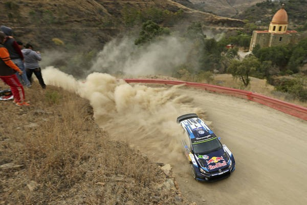 WRC-2015-MEXIQUE-POLO de SEB OGIER -Julien INGRASSIA