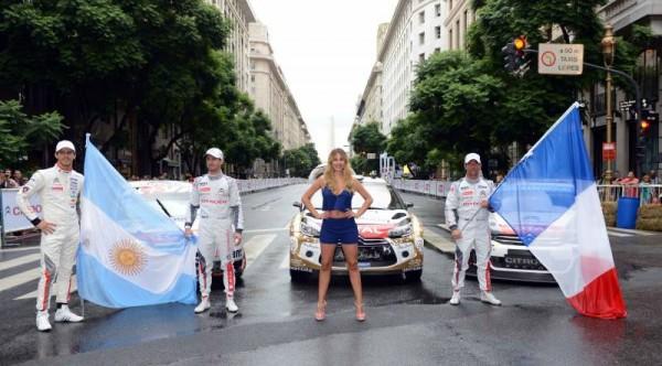 WTCC-2015-A-BUENOS-AIRES-Show-Equipe-CITROEN-Avec-ses-pilotes