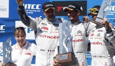 WTCC-2015-ARGENTINE-Le-podium-de-la-1ére-course-avec-le-triple-des-pilotes-CITROEN-1-LOPEZ-2-MULLER-3-LOEB