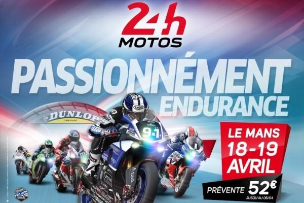 24 HEURES DU MANS MOTO 2015 - Affiche