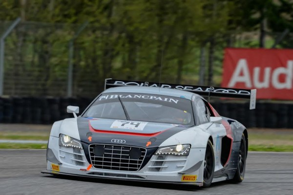 BLANCPAIN-SPRINT-2015-NOGARO-4-avril-AUDI-R8-du-Team-PHOENIX-la-N°74-Photo-Antoine-CAMBLOR