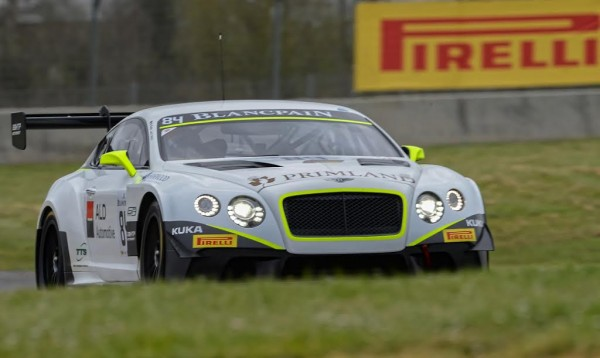 BLANCPAIN SPRINT  2015 NOGARO -BENTLEY GT3  Team HTP la  N°84 - Photo Antoine CAMBLOR