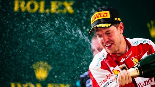 F1 2015 CHINE SHANGHAI SEB VETTEL FERRARI 3éme.j