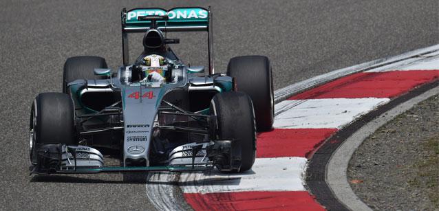 F1 2015 SHANGHAI - MERCEDES de LEWIS HAMILTON