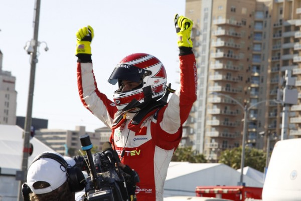 FORMULE-E-2015-LONG-BEACH-VICTOIRE-du-BRESILIEN-NELSON-PIQUET-Junior