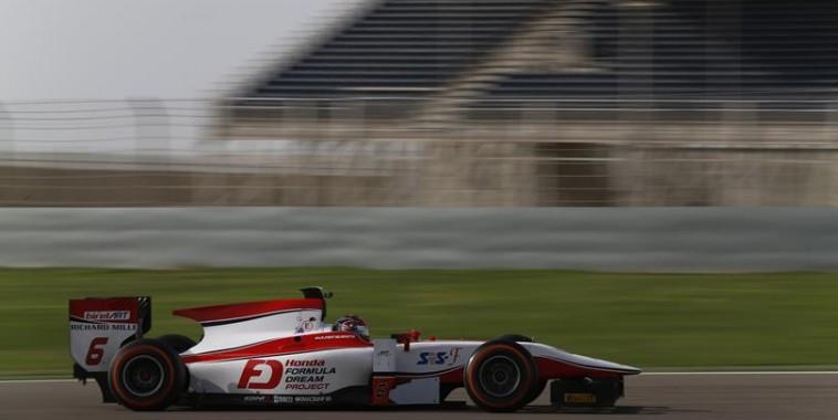 GP2-2015-SAKHIR-Essai-1er-et-2-avril-NOBAHURU-MATSUSHITA