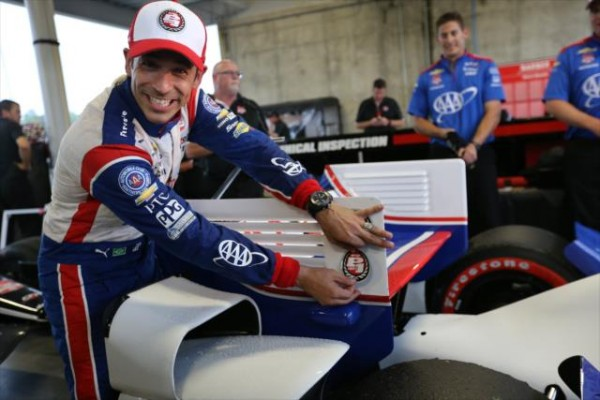 INDYCAR 2015 BARBER - la Pole pour HELIO CASTRONEVES.