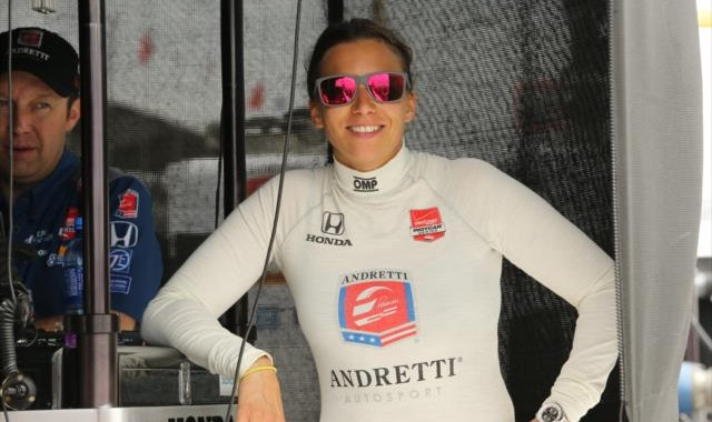 INDYCAR 2015  ST PETERSBURG   SIMONA DE SILVESTRO Team ANDRETTI