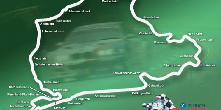 Logo carte Nurburgring