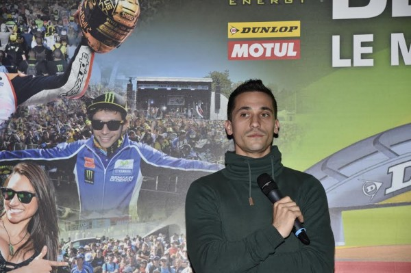 MOTO GP 2015 FRANCE - Présentation  le 23 avril a PARIS  - MASBOU  -  Photo Max MALKA