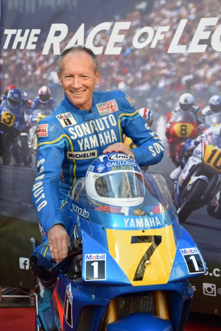 MOTO WORLD GP LEGEND CHRISTIAN SARRON