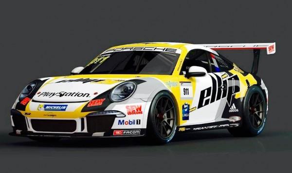 PORSCHE CARRERA CUP 2015 - la 911 de Christophe LAPIERRE  A