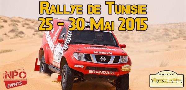RALLYE DE TUNISIE 2015