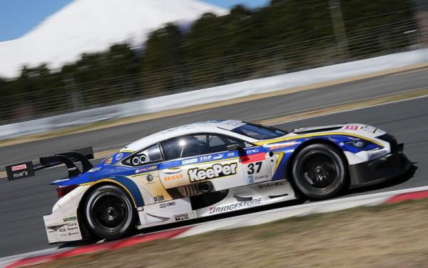 SUPER-GT-2015-OKAYAMA-Pole-pour-la-LEXUS-TOMS-de-CALDAREELI-HIRAKAWA-LE-4-AVRIL.