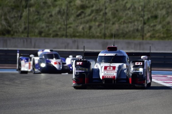 WEC-2015-PAUL-RICARD-Prologue-27-mars-AUDI-N°8-et-TOYOTA-N°1-Photo-Max-MALKA.