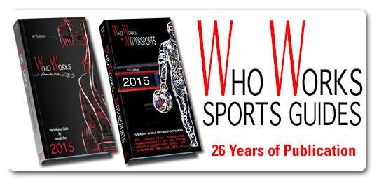 WHO WORKS IN MOTORSPORT 2015 -