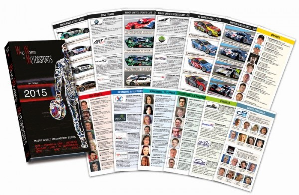 WHO WORKS IN MOTORSPORT Edition 2015