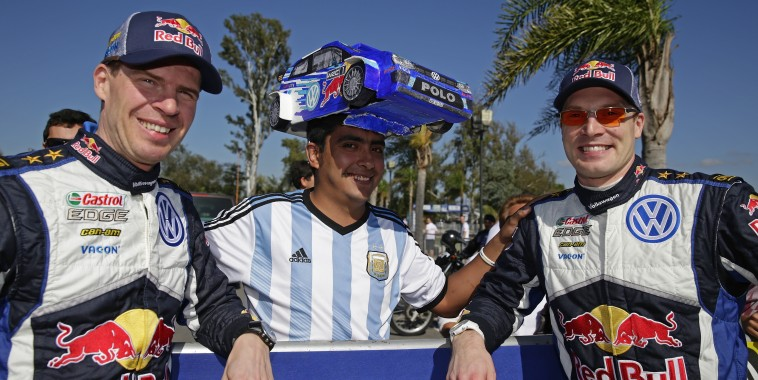 WRC 2015 ARGENTINE- Couleurs locales autour des PILOTES VW.