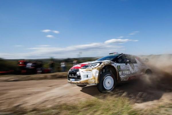 WRC 2015 ARGENTINE MADS OSTBERG et la DS3 CITROEN