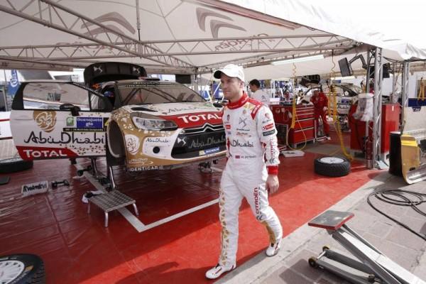 WRC 2015  ARGENTINE- L equipe CITROEN enfin a la fete apres la 1ére journée