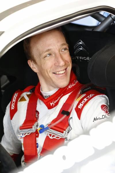 WRC 2015 Team CITROEN -KRIS MEEKE