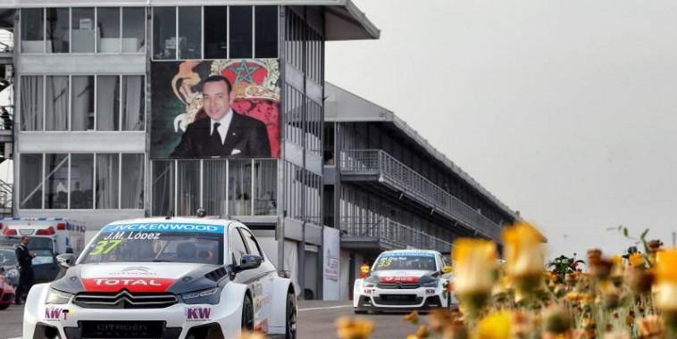 WTCC-2015-MARRAKECH-LOPEZ-quitte-MARRAKECH-solide-leader-au-Championnat.Et CITROEN, aussi