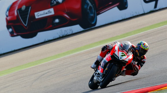 CHAZ DAVIES SECOND CHRONO EN WSBK