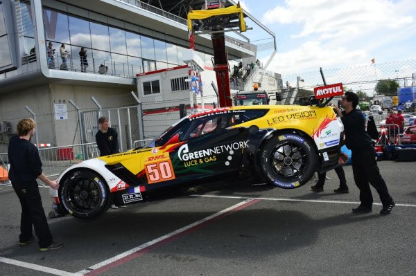 24-HEURES-DU-MANS-2015-Test-preliminaire-la-CORVETTE-LARBRE-COMPETITION-Photo-Max-MALKA