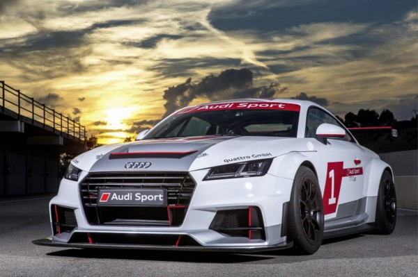 ALEXIS VAN DE POELE - AUDI TT CUP 2015 Photo Manfred GIET