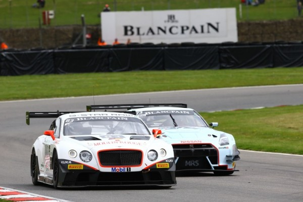 BLANCPAIN 2015 BRANDS HATCH - BENTLEY TEAM HTP - BENTLEY CONTINENTAL -OLIVIER LOMBARD et JULES SZYMKOWIAK.