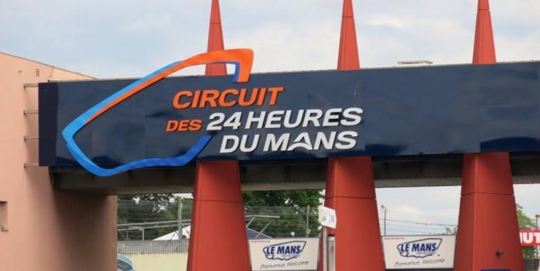 CIRCUIT DES 24 HEURES DU MANS  - Entree principale