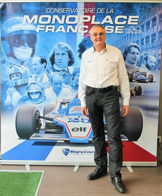 CONSERVATOIRE-de-la-MONOPLACE-FRANCAISE-Gilles-ALEGOET-Membre-du-directoire-du-circuit-de-MAGNY-COURS-Photo-Florian-GAUDUCHEAU