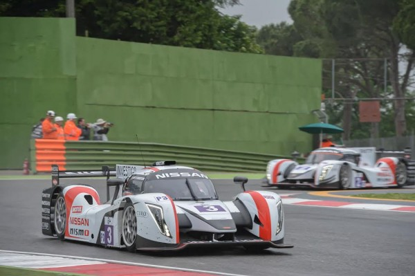 EUROPEAN LE MANS SERIES-2015- IMOLA- Les deux GINETTA LMP3 du Team LNT -Photo-Antoine CAMBLOR