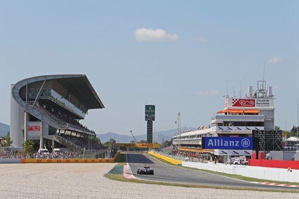 F1-2015-BARCELONE- le circuit de CATALUNYA