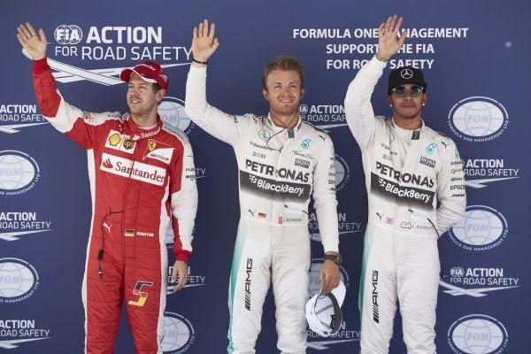F1-2015-BARCELONE-9-Mai-les-trois-1ers-des-qualifications-ROSBERG-HAMILTON-et-VETTEL