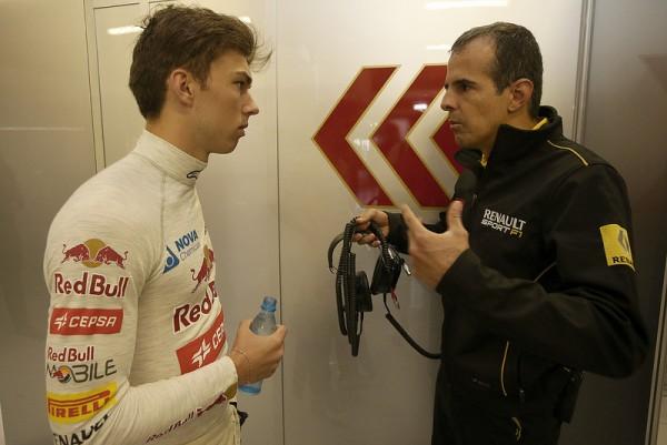 F1 2015 BARCELONE- Essais privés collectifs - 12 MAI Pierre GASLY au volant de la TORO ROSSO RENAULT