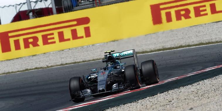 F1 2015 BARCELONE La MERCEDES DE NICO ROSBERG en pole le 9 Mai.