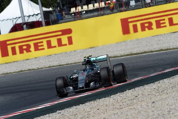 F1 2015 BARCELONE La MERCEDES DE NICO ROSBERG