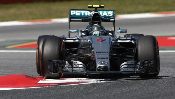 F1 2015 BARCELONE NICO RROSBERG MERCEDES