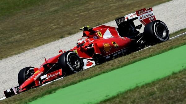 F1 2015 BARCELONE SEB VETTEL KIMI RAIKKONEN SCUDERIA FERRARI