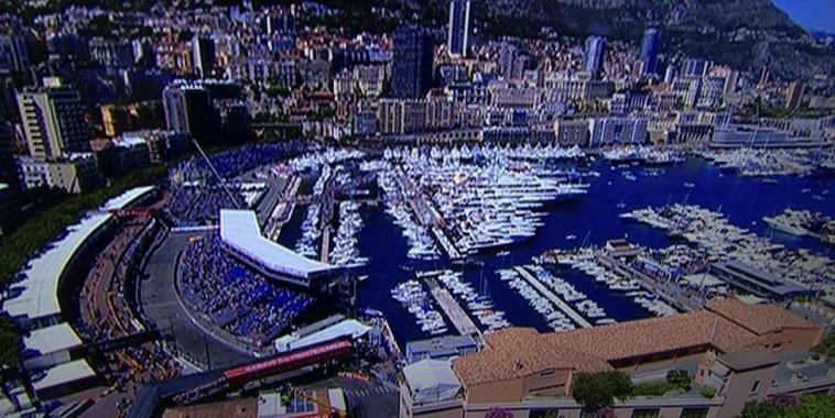 F1 2015 GP MONACO vue du port