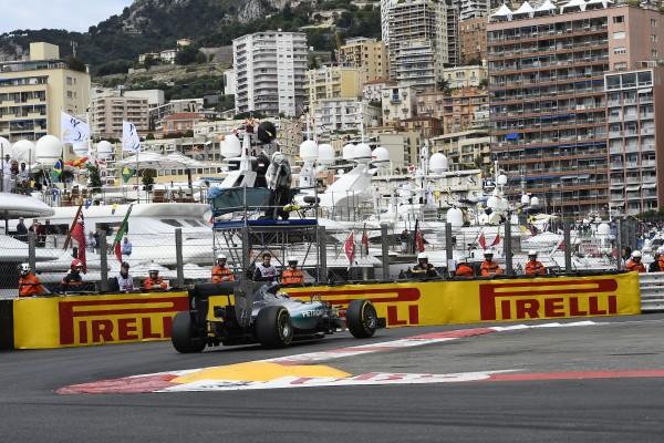 F1 2015 MONACO - la MERCEDES de LEWIS HAMILTON.