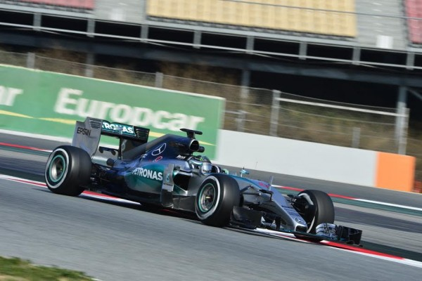 F1 2015 MONTMELO - MERCEDES NICO ROSBERG - Photo MAX MALKA