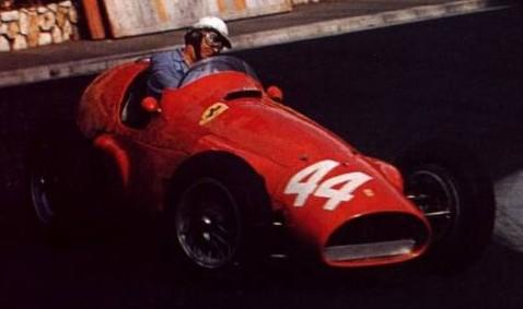 F1-MONACO-22-Mai-1955-Victoire-de-la-FERRARI-de-MAURICE-TRINTIGNANT.