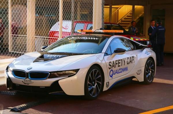 FORMULE E 2015 MONACO Samedi 9 Mai - SAFETY CAR BMW électrique - Photo Jean François THIRY