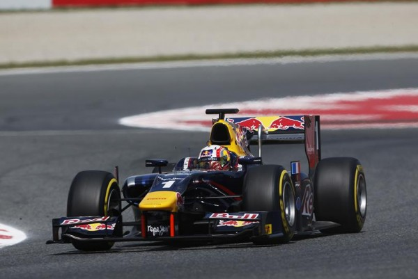 GP2 2015 BARCELONE 8 Mai PIERRE GASLY Team DAMS