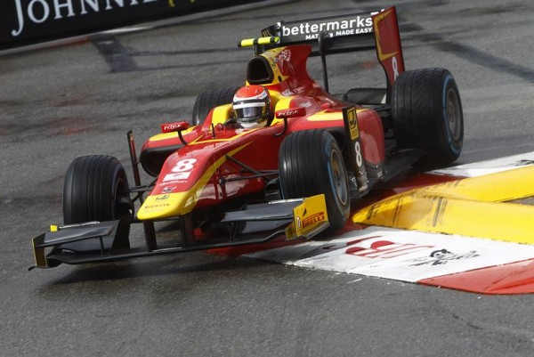 GP2 2015 MONACO - Alex ROSSI de RACING ENGINEERING en pole de la 1ére course.