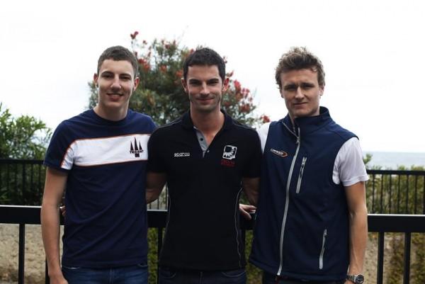 GP2 2015 MONACO -Les 3 premiers des quakifications le jeudi 21 mai