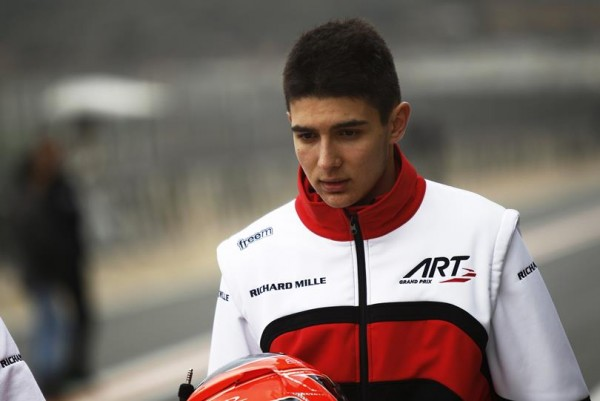GP3 2015-Test-19-Mars-circuit-ESTORIL-ESTEBAN-OCON