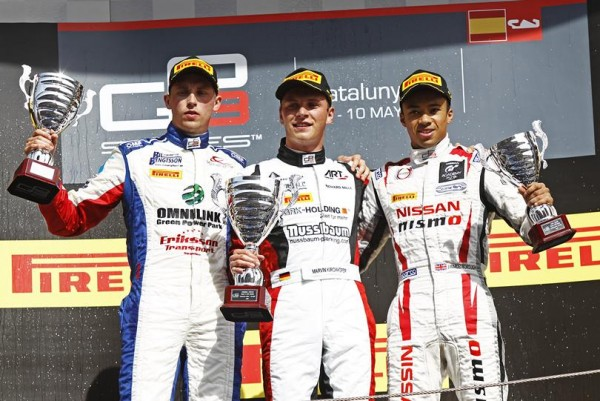 GP3-2015-BARCELONE-1er-place-sur-le-podium-pour-MARVIN-KIRCHOFFER-de-chez-ART-GP-dans-la-seconde-course-le-10-Mai.
